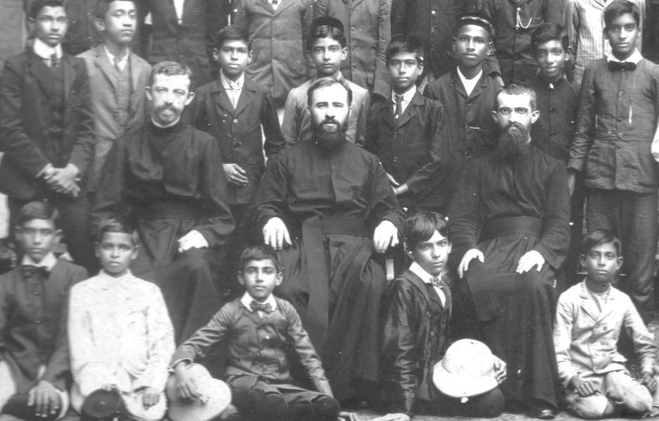 Pater August Benninghaus in Indien